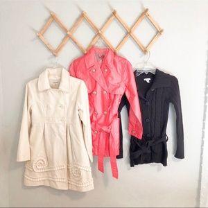 Girls winter coat bundle size 8/small